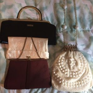 Vintage/antique purses